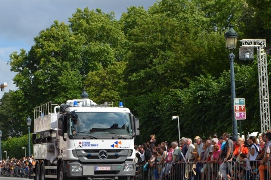 Camion-citerne vacuum Protection civile