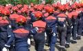 Défilé jeunes sapeurs-pompiers
